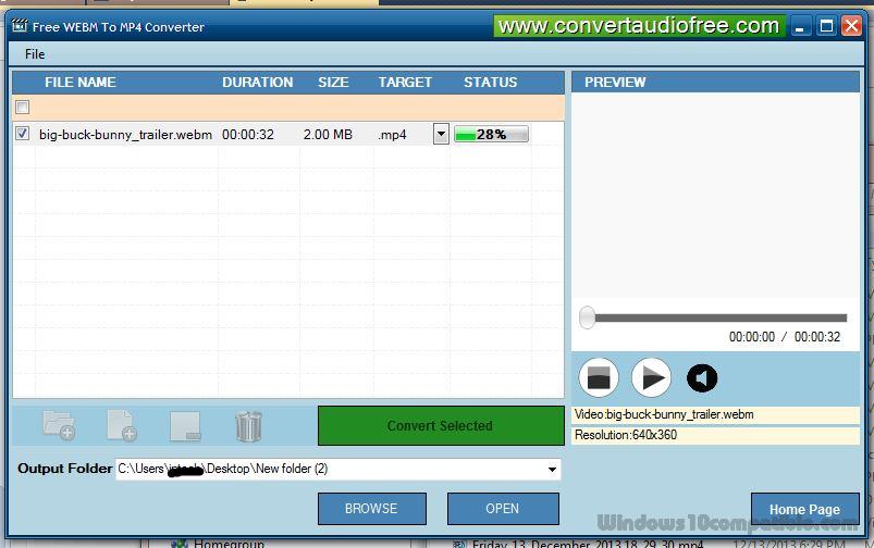 converter free download mp4